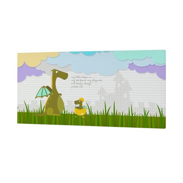 Obrazek Dragon Art, 27x54 cm
