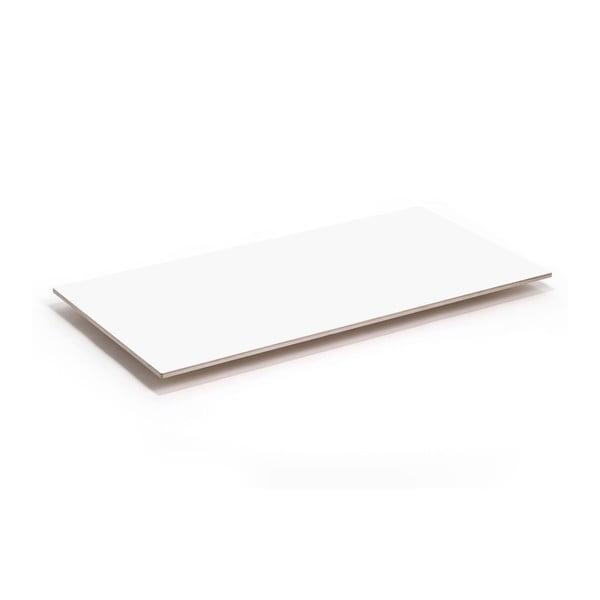 Blat Flat - biały, 150x75 cm