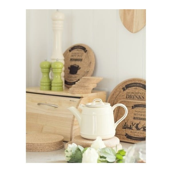 Zielony dzbanek porcelanowy T&G Woodware Pride of Place, 1,5 l