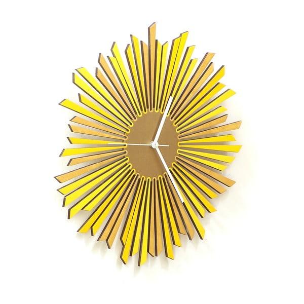 Zegar drewniany The Sun, 41 cm