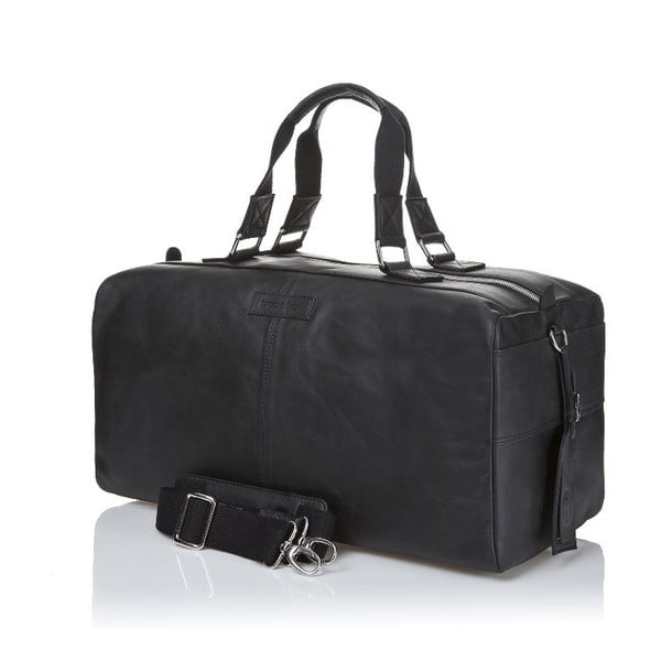 Męska torba skórzana Ferruccio Laconi 102 Black
