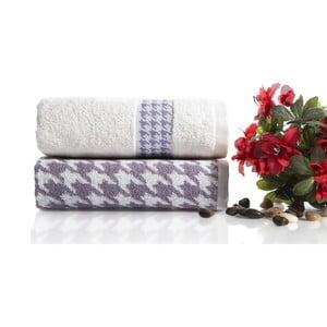 Zestaw 2 ręczników Carol V1, 50x90 cm