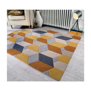Dywan Flair Rugs Infinite Scope Ochre, 120x170 cm