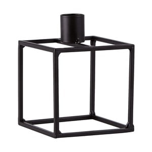 Czarny świecznik KJ Collection Melo