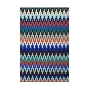 Dywan wiązany ręcznie Bakero Olga Multi, 180x120 cm