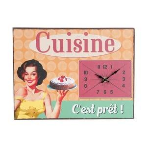 Zegar Vintage Cuisine, 32x24 cm