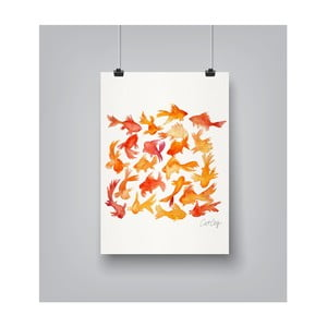 Plakat Americanflat Goldfish, 30x42 cm