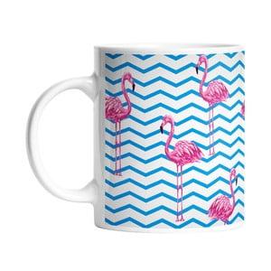 Kubek ceramiczny Flamingo in Water, 330 ml