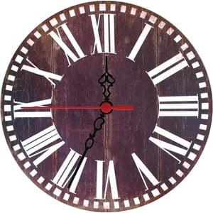Zegar ścienny Wooden, 30 cm