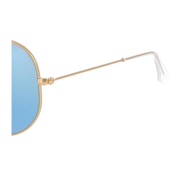 Okulary przeciwsłoneczne Ray-Ban Aviator Flash Gold Marina
