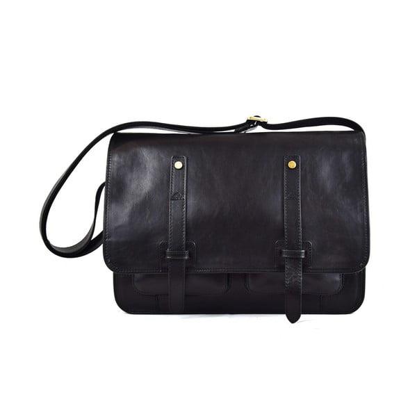 Skórzana torebka Santo Croce 108718 Black