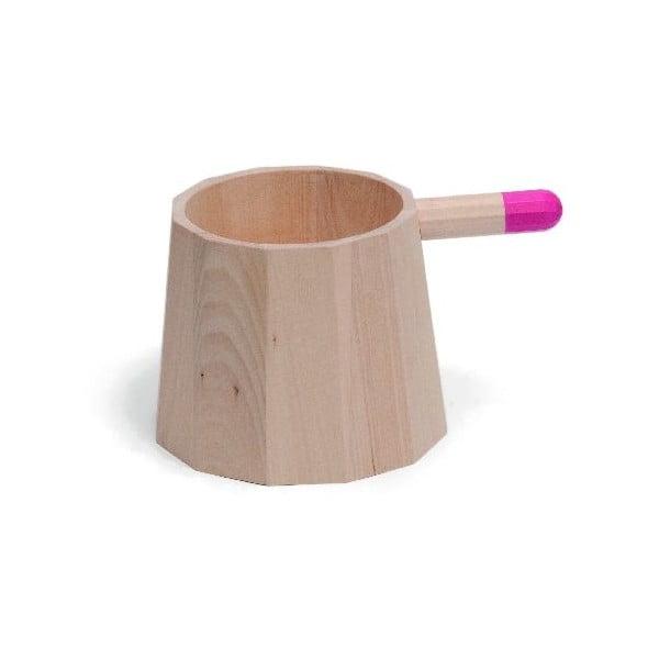 Drewniane naczynie Perrette Medio