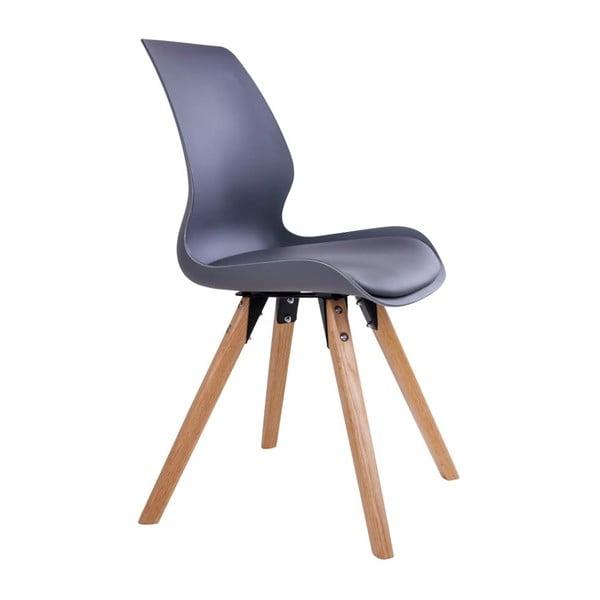 Zestaw 2 szarych krzeseł House Nordic Rana