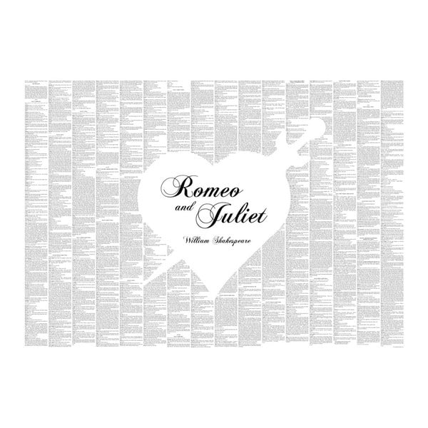 "Plakat ""Romeo i Julia"", 70x50 cm"