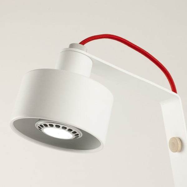 Lampa stołowa (LED) Jazz white/red