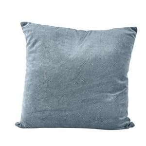 Ciemnoniebieska poduszka na suwak KJ Collection, 23 cm