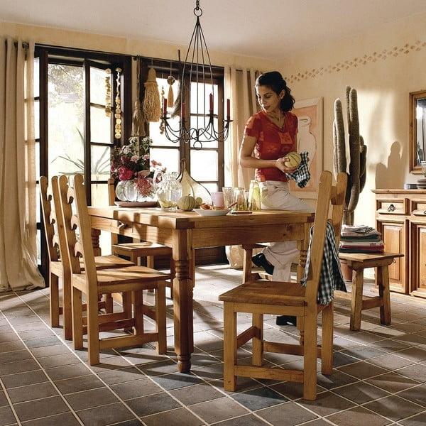 Stół jadalniany z woskowanej sosny, 170 cm