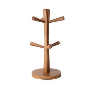 Stojak z drewna akacjowego na 6 kubków T&G Woodware Tuscany