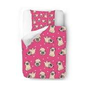 Pościel Pink Pugs, 140x200 cm