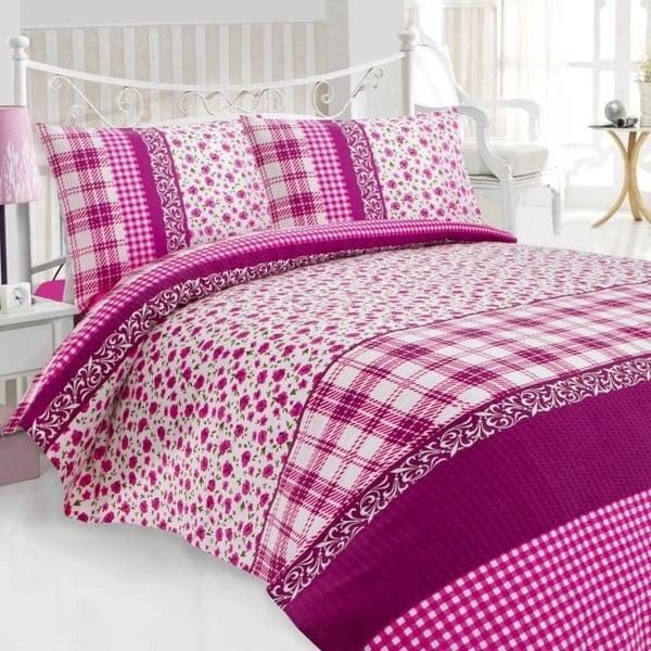 Komplet pościeli Pelin Pink, 200x230 cm