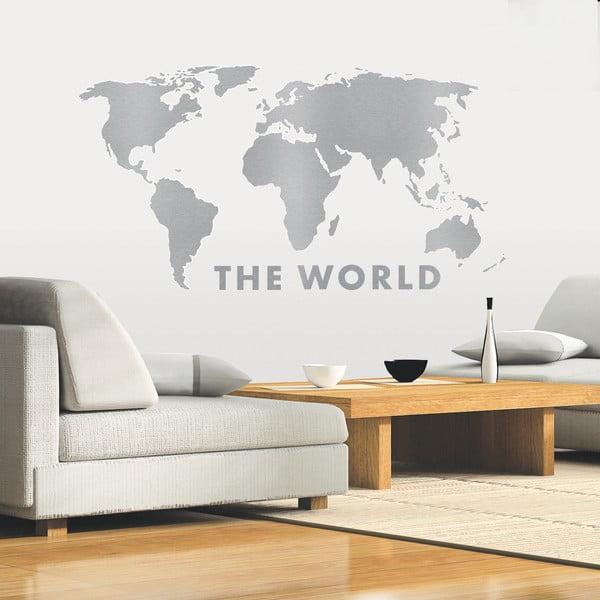 Naklejka dekoracyjna Cały świat