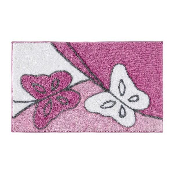 Dywanik łazienkowy Paselis Fuchsia, 60x100 cm