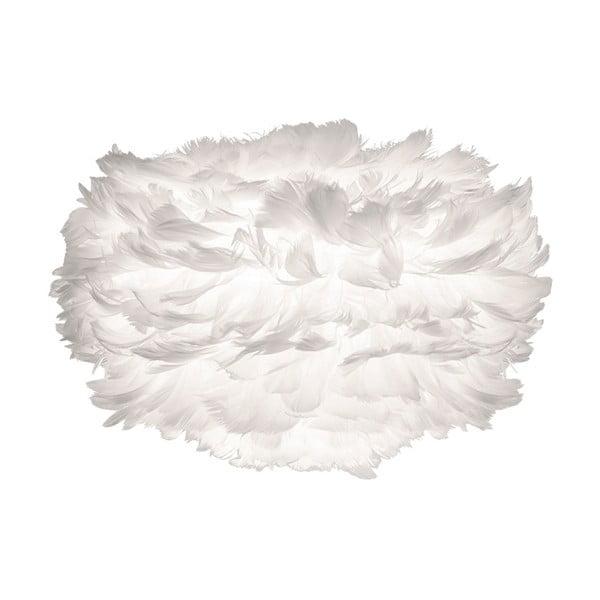 Biały abażur z gęsich piór VITA Copenhagen EOS, Ø35cm