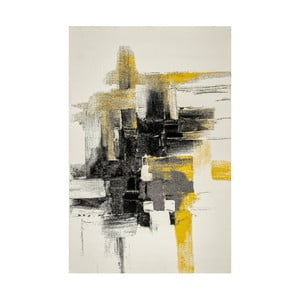Dywan Farbles, Grey, Yellow, 200x290 cm
