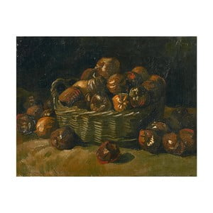 Reprodukcja obrazu Vincenta van Gogha - Basket of Apples, 50x40 cm