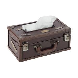 Pudełko na chusteczki Suitcase Cocoa