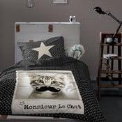 Pościel  Mouscat Black, 140x200 cm