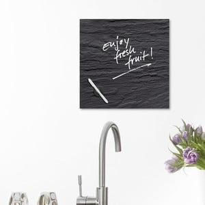 Tablica magnetyczna Eurographic Black Slate, 30x30 cm