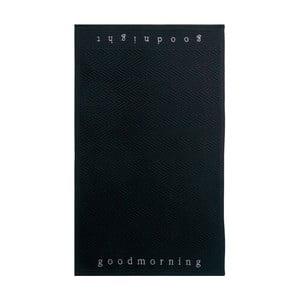 Dywanik łazienkowy Good Morning Black, 60x100 cm
