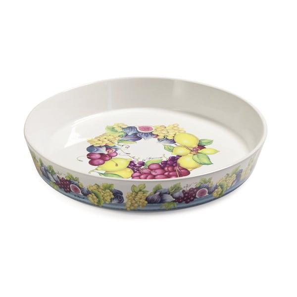 Ceramiczna forma do pieczenia Blue Garden, 30 cm