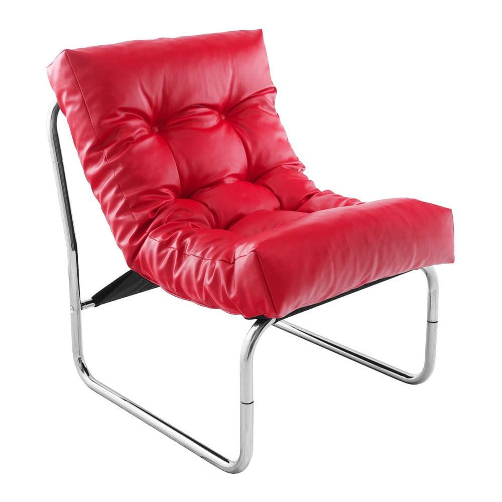 Czerwony fotel Kokoon Boudoir