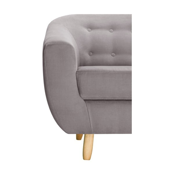 Brązowy fotel Jalouse Maison Vicky