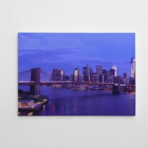 "Obraz na płótnie ""Brooklyn Bridge"", 50x70 cm"