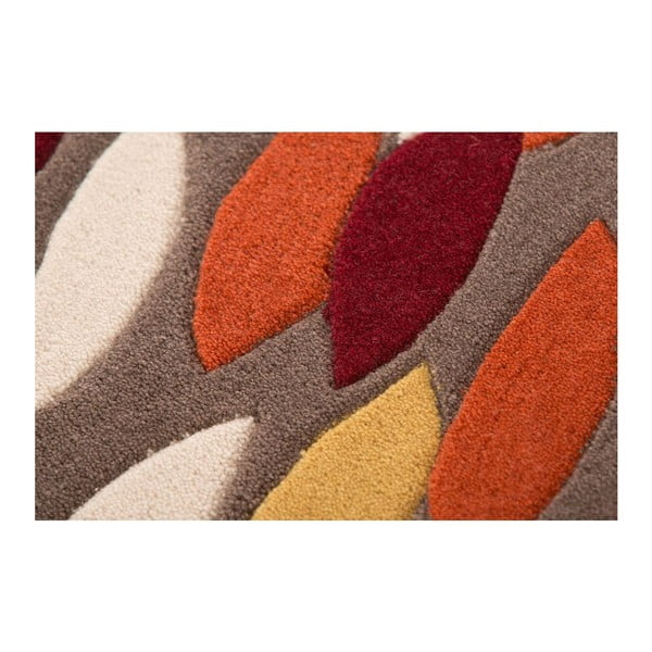 Dywan Flair Rugs Swirl Ochre/Red, 120x170 cm