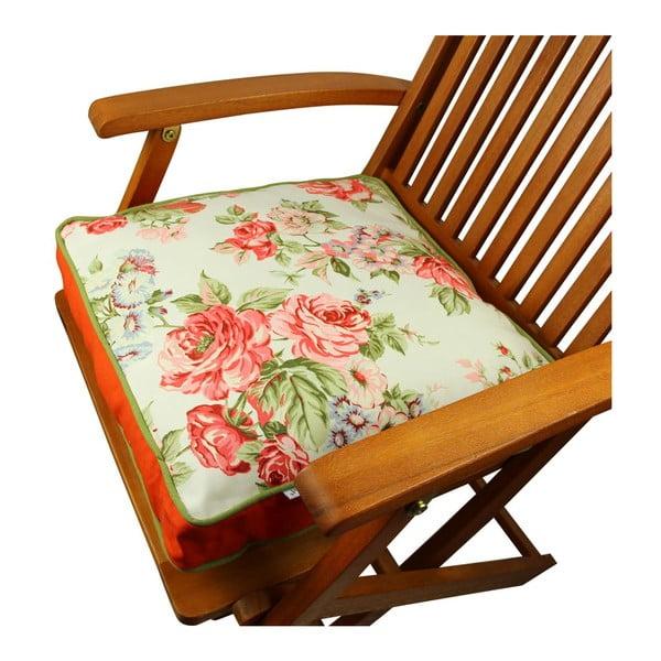 Poduszka na krzesło z wypełnieniem Wisconsin, 42x42 cm