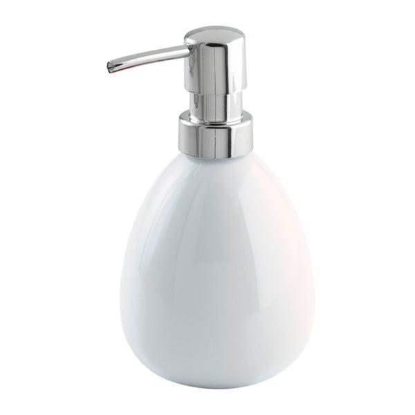 Biały dozownik do mydła Wenko Polaris