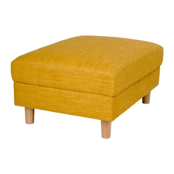 Żółty podnóżek House Nordic Artena
