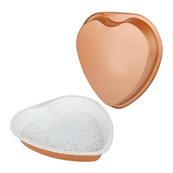 Forma Dariole Heart, 27,5x26,5 cm