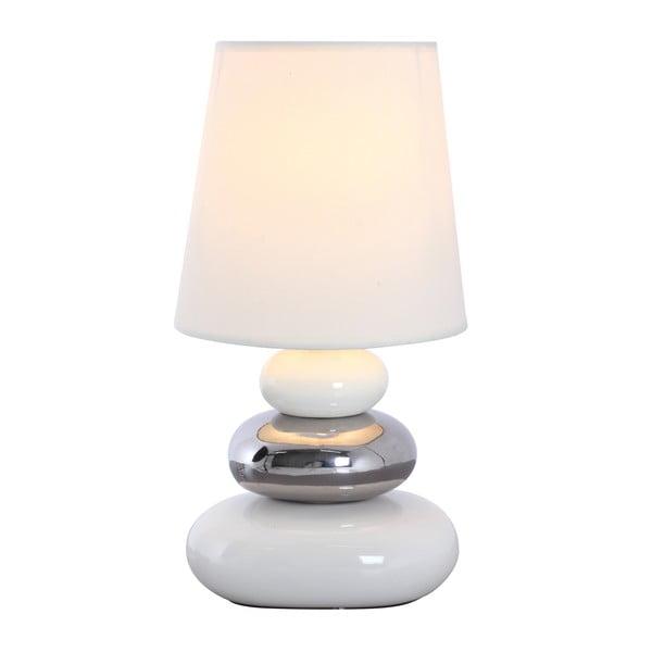 Lampa stołowa Stoff, biała