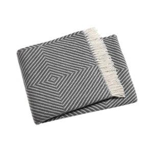 Szary koc Euromant Tebas, 140x180 cm