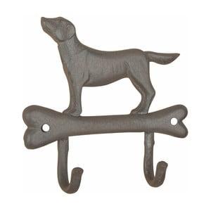 Żeliwny haczyk z motywem psa Esschert design