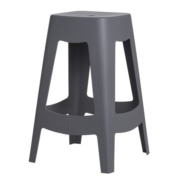 Zestaw 2 stołków barowych D2 Tower, szare