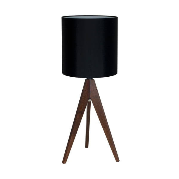 Lampa stołowa 4room Artist Black/Brown, 65x25 cm
