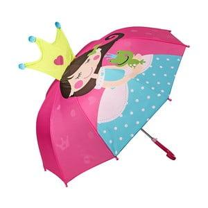 Parasol dziecięcy Von Lilienfeld Princess with Frog, ø 73 cm