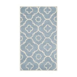 Dywan wełniany Alexa Blue, 121x182 cm