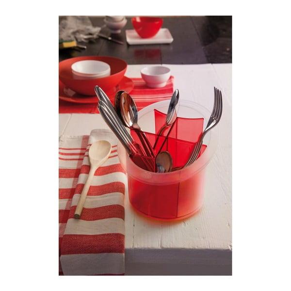 Niebieski pojemnik na sztućce Red Cutlery